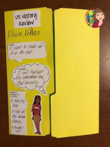 US History Lap Book for Review Door