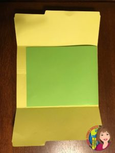US History Lap Book for Review Fly out paper fold in