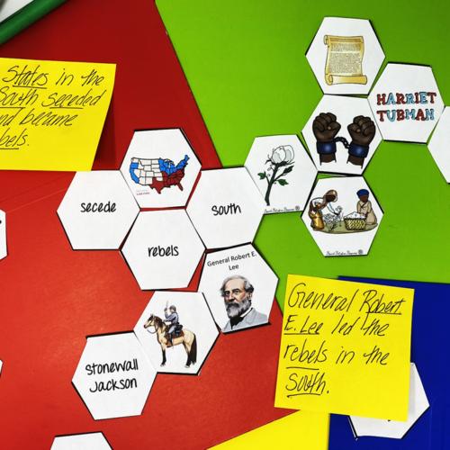 Civil War Hexagonal Thinking